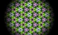 使用遮罩方法美化:万花筒之等边三角形镜面反射