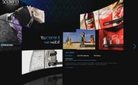 Flash三维网站案例6 — scalena