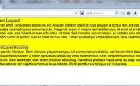 使用CSS进行页面布局的方法