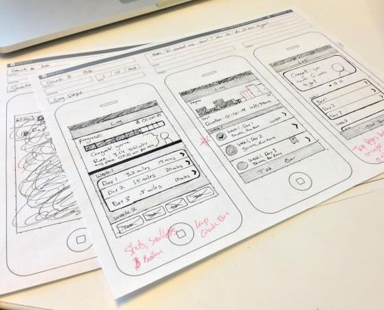 原型的类型 根据产品设计以及界面设计流程中的不同时期以及不同时期
